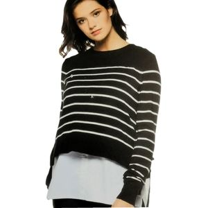 SMALL BLACK TAPE Mono Two Sweater NWT